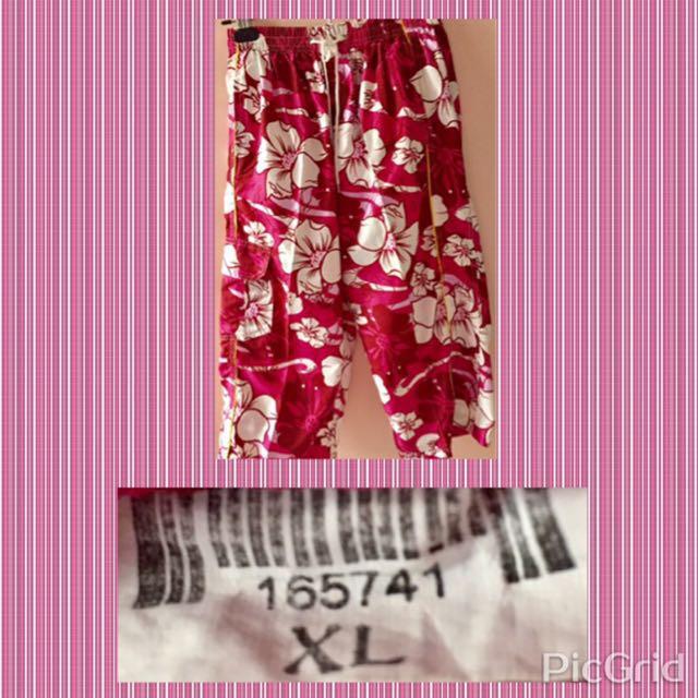 Red Violet Ladies' Beach Pants