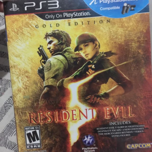 Resident evil gold edition 0s3