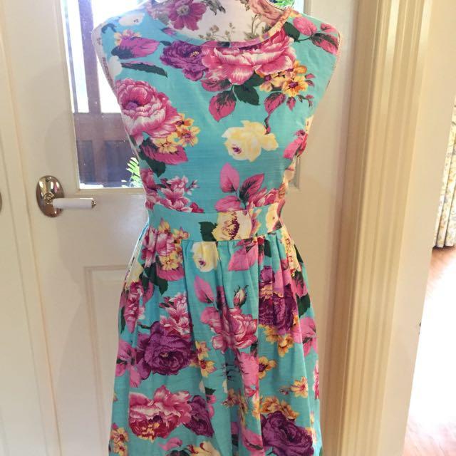 Revival Floral Dress