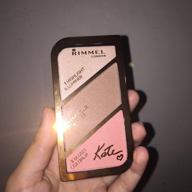 Rimmel x Kate Moss Sculpting Palette