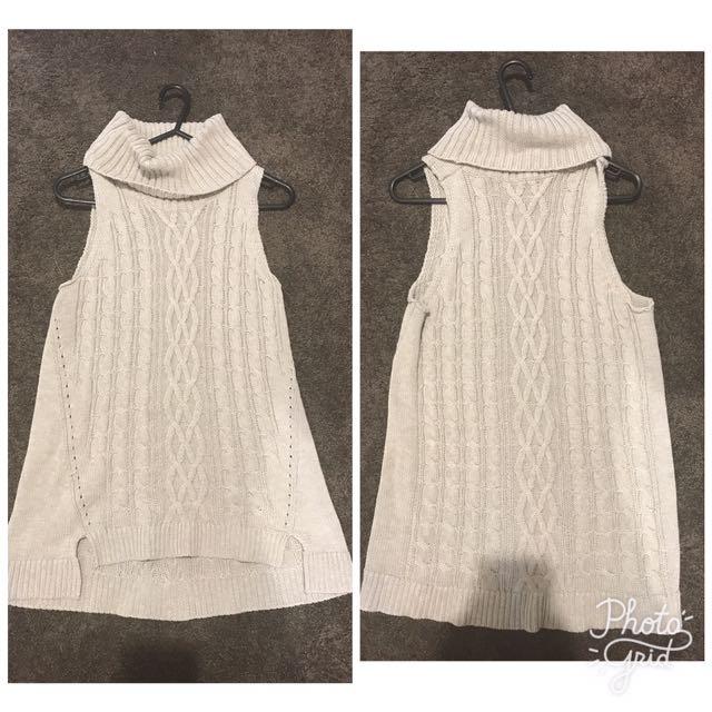 Rosebullet Knitted Cowl Neck Top