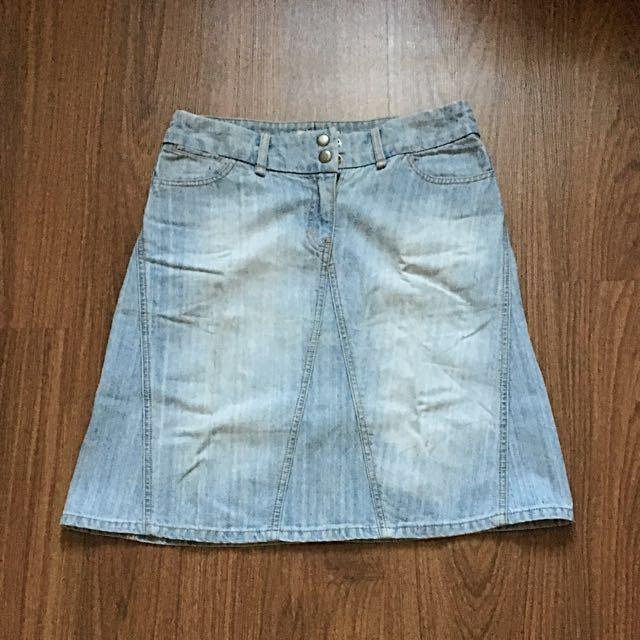 ‼️SALE‼️ Bayo Denim Midi Skirt