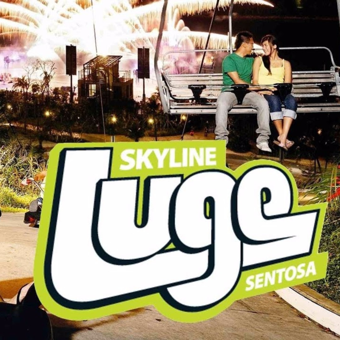 Sentosa Luge And Skyride Entertainment Events Concerts On Carousell Ampamp Skyline Singapore 2x