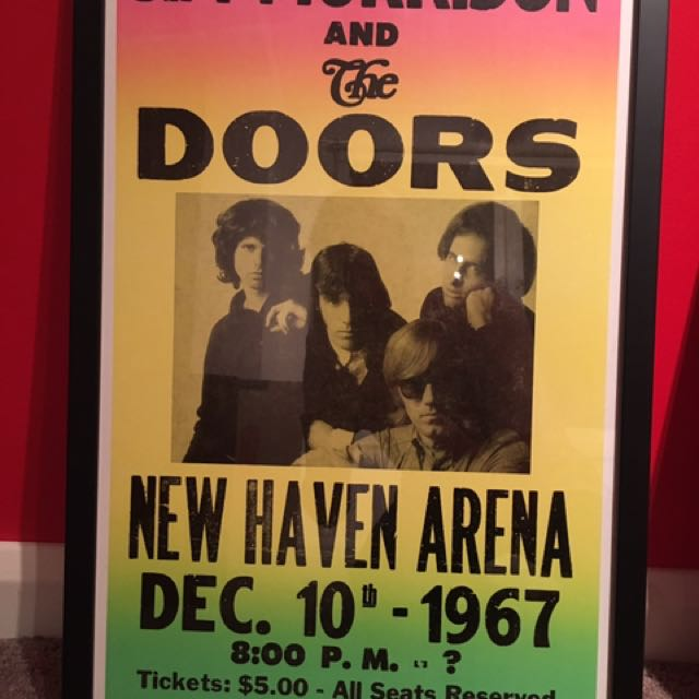 The Doors Band Poster - High Quality Frame