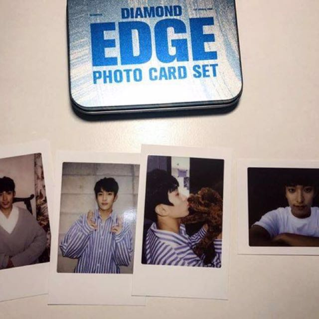 Seventeen Diamond Edge Photo Cards