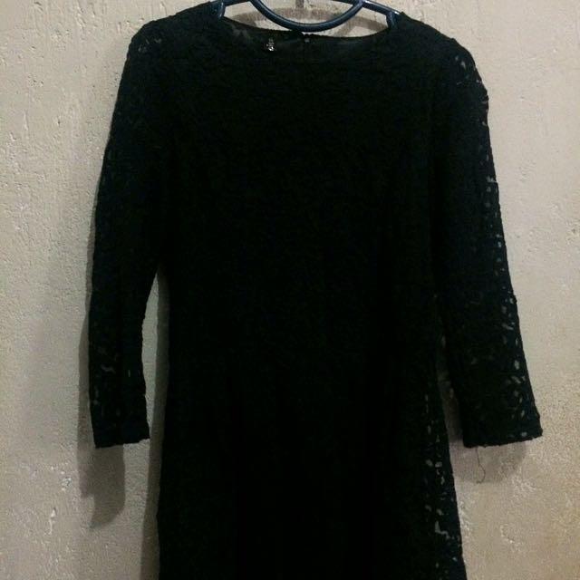 Short Brokat Dress