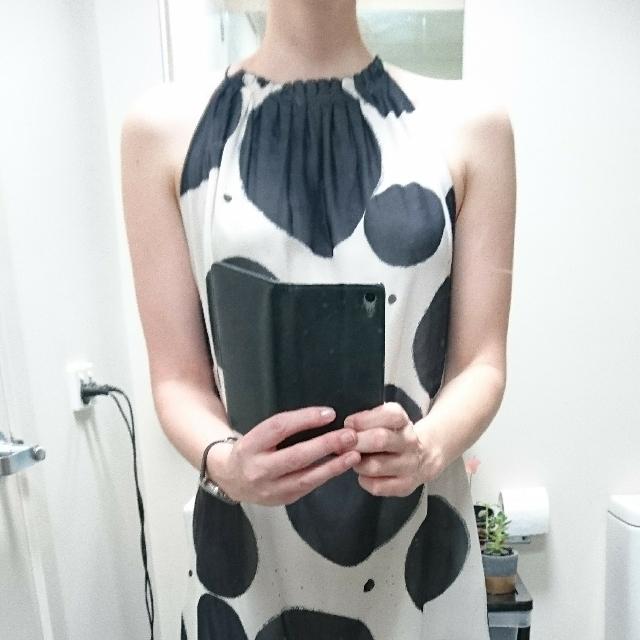 Spotty Cocktail Dress