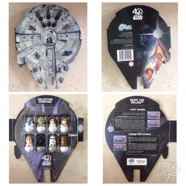 Star Wars Rollinz Collectibles