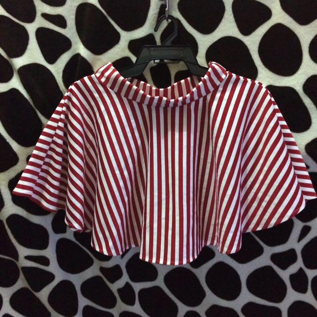 Stripes Skater Skirt