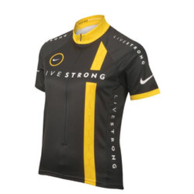 Sz S Women Nike Livestrong Live Strong Cycling Jersey 100% Authentic ... 03a5fddaa