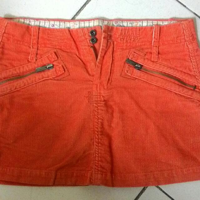 Tangerine Skirt