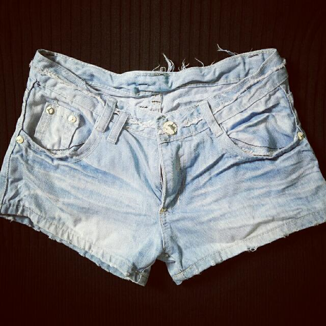 Tatterred Shorts