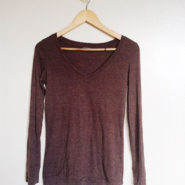 Terranova Brown Longsleeves