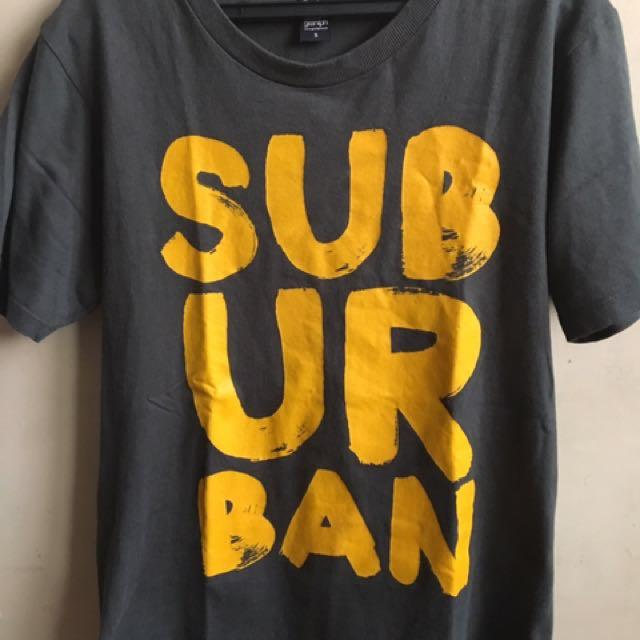 The design suburbab tshirt