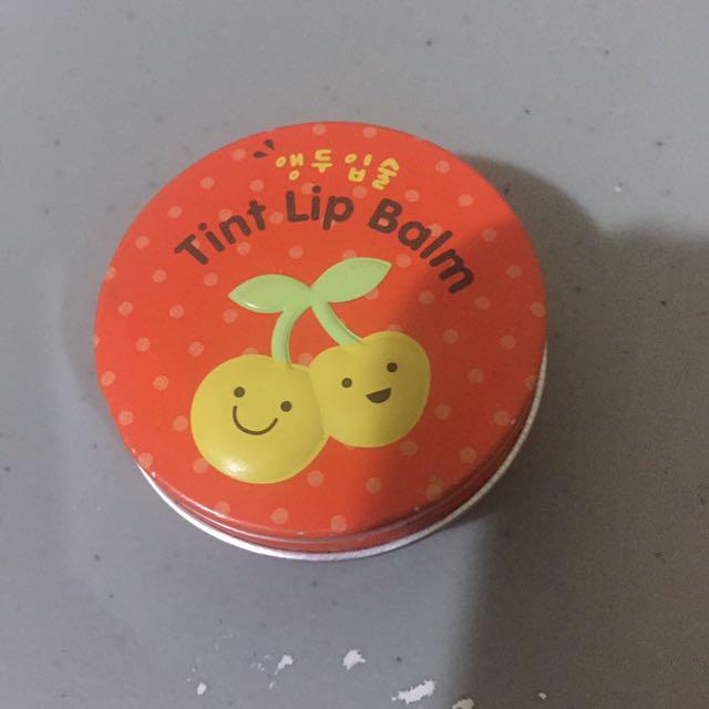 The face shop tint lip balm