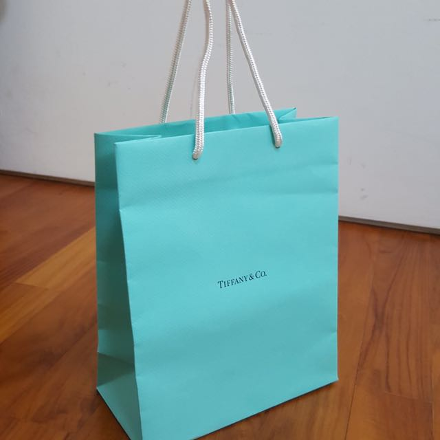 bf1753abc8 TIFFANY AND CO PAPERBAG, Luxury, Accessories on Carousell
