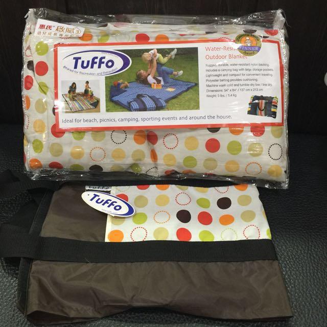 美國TUFFO防水野餐墊