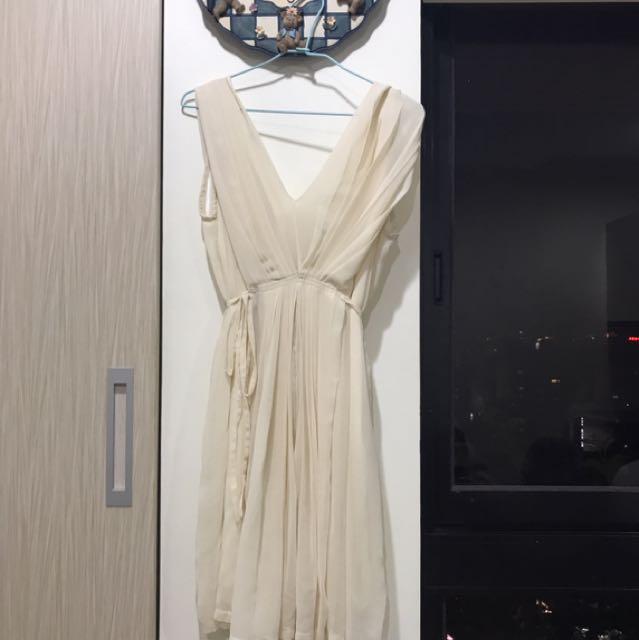 🎉-V型雪紡紗洋裝👗
