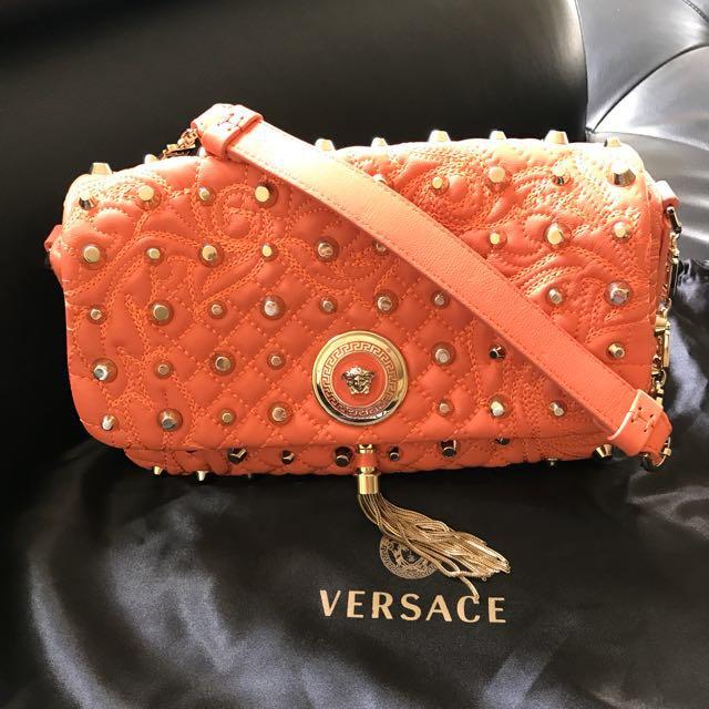 c69de7bb035c Versace Medusa Logo bag Chanel Gucci Louis Vuitton Dior Hermes ...