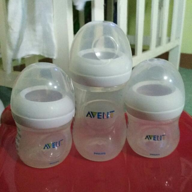 Vguc Avent Natural bottles