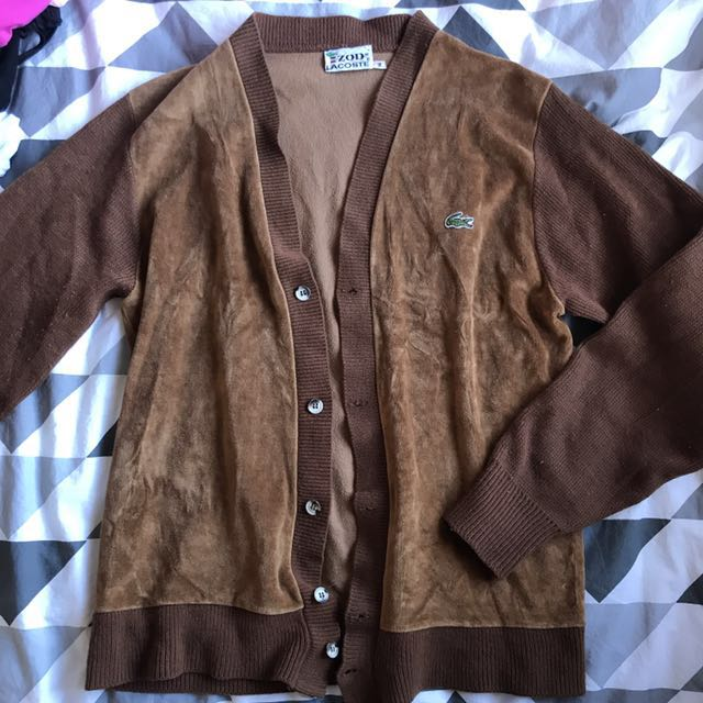 Vintage Lacoste Cardigan Size M