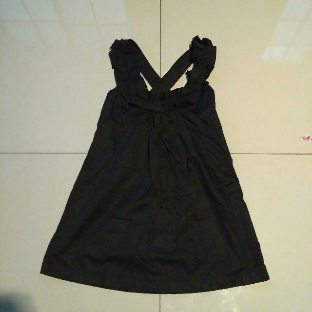 Zara Basic Overall Dress