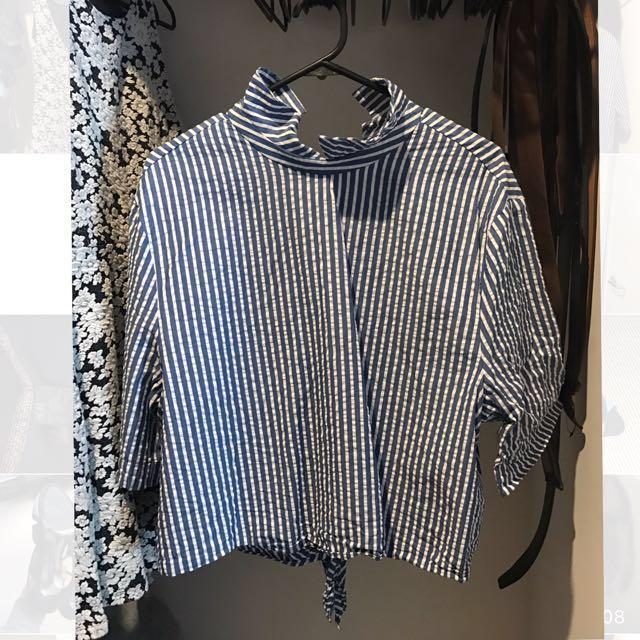 ZARA Stripe Shirt (L)