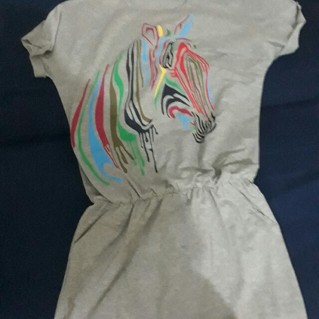 Zebra Short Dress