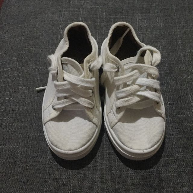 ZY Spain Baby White Sneakers