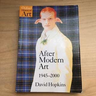After Modern Art 1945-2000 by David Hopkins