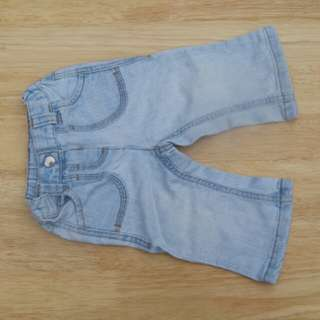 NEXT used baby jeans trousers
