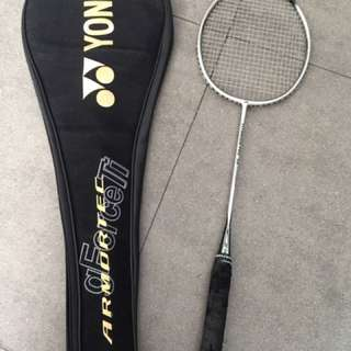 Yonex Titanium Pro 30 Badminton Racket and Bag