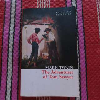 The Adventures of Tom Sayer by Mark Twain.