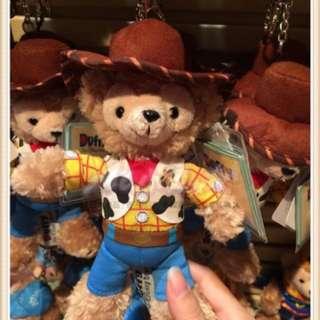 🇭🇰香港迪士尼 Duffy 玩具總動員 胡迪警長達菲熊woody Toy Story