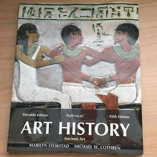 Art History Portable Book 1: Ancient Art (5th edition) by Marilyn Stokstad and Michael W. Cothren