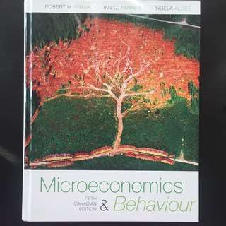 Microeconomics & Behaviour (MGEB02)
