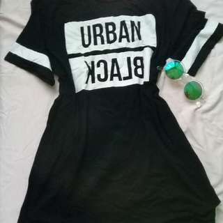 Urban Black Dress 👚