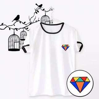Black &White rengertee T-shirt