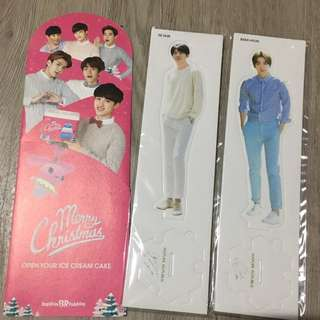 EXO Standee and Brouchure