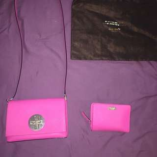 Authentic Kate Spade wallet and purse