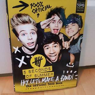 5 Seonds Of Summer (5SOS) Book