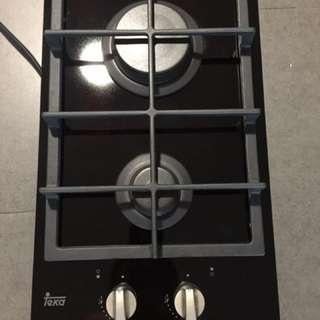 Teka Glass Gas Cooker Hob VT2 2G
