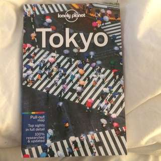 2017 lonely Planet Tokyo Guide