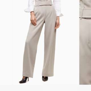 Babaton wide leg dress pants