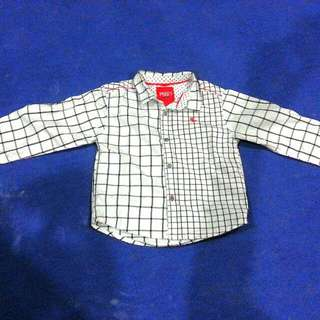 Preloved Poney Long Sleeve Shirt For boy 18-24m