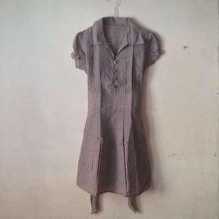 Plaid Dress (Dress Kotak-Kotak)