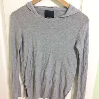 Wilfred Free Cashmere Hoody - XS