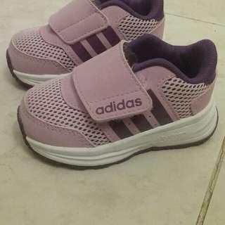 Size 4 Infant Adidas Cloudfoam Shoes