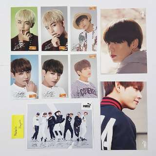 WTS - BTS OFFICIAL PHOTOCARDS