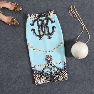 Blue OL skirt